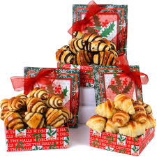 pastry gift baskets 3 tier rugelach pastry gift tower 15 w code hbf15