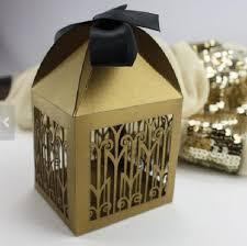 chocolat personnalisã mariage 100 pcs begie or personnalisé boîtes de faveur de mariage laser