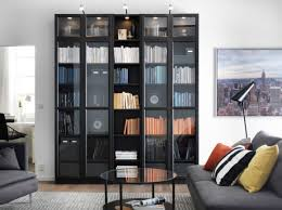 Bookcases With Sliding Glass Doors Glass Door Bookcase With Sliding Glass Doors Inspiring Photos
