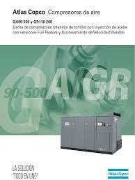 Catalogo Atlas Copco Gagr90 500 Ff Vsd