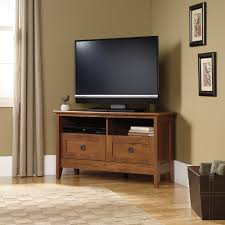 corner tv stand with glass doors dark wood corner tv cabinet with bedroom lacquered oak tv stand