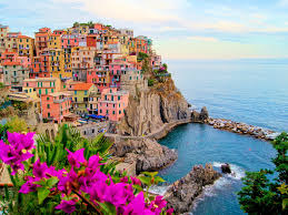 Map Of Cinque Terre Italy by