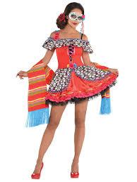 sugar skull costume senora sugar skull costume 848790 55 fancy dress