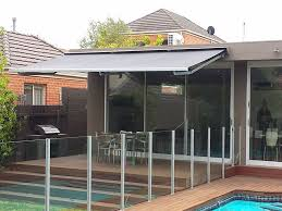 Shade Awnings Melbourne Full Cassette Folding Arm Awnings In Melbourne Infinity Blinds