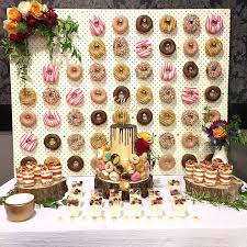 you have to see this adorable diy wedding donut bar wedding