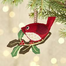 the bird ornament crate and barrel