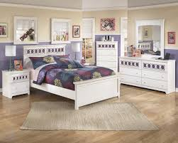 White Full Size Bedroom Set Signature Design By Ashley Zoey Twin Panel Bed Rotmans