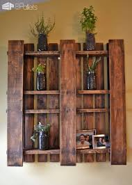 How To Hang Shelves by How To Hang A Pallet On Your Wall U2022 1001 Pallets