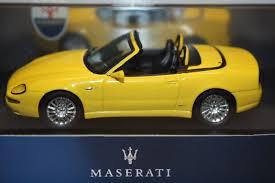 maserati cambiocorsa spyder ixo 1 43 scale moc029 maserati spyder cambiocorsa yellow ebay