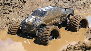 youtube monster truck videos rc adventures muddy monster truck u0026 smoke show chocolate milk