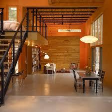 loft interior design living room modern with seating area modern