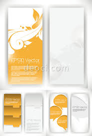 free the creative pattern x banner display rack vector templates