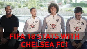 revealed fifa 18 stats for chelsea u0027s hazard luiz u0026 christensen