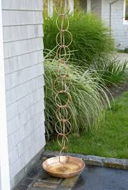 rain chain double link copper rain chain rain gutter chain