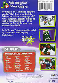 the they saved christmas dvd veggietales the that saved christmas lesley