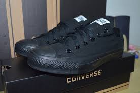 Jual Converse Mono sepatu converse original black monochrome all low m5039