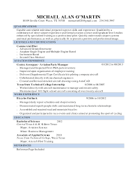 Manager Of Operations Resume Michael O U0027martin Resume Airport Operations Supervisor