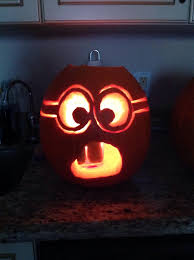 Minnie Mouse Pumpkin Carving Ideas by Minion Pumpkin Http Www Kidzworld Com Article 27521 Despicable