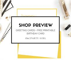 shop preview greeting cards free printable birthday card the