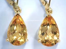 topaz earrings imperial topaz earrings and golden topaz earrings