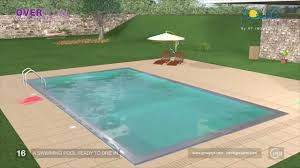 overflow swimming pool design simple overflow swimming pool design