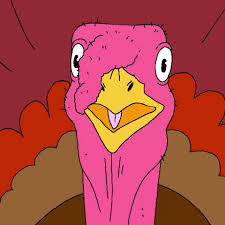 thanksgiving turkey gif by cartuna find on giphy