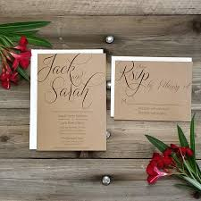 Wedding Invitation Bundles Printed Country Rustic Wedding Invitation Package Printed Rsvp W