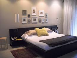Bed With Attached Nightstands Furniture Platform Bed With Floating Nightstands Hanging
