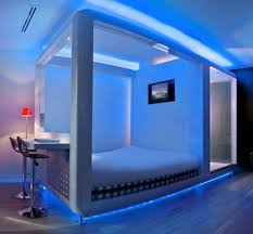 led room lighting with lights in bedroom interalle com