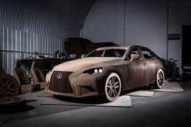 lexus car used in fast five discover the drivable origami inspired car made out of cardboard