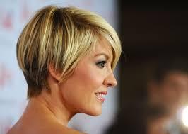 celebrity short hairstyles bangs newhair