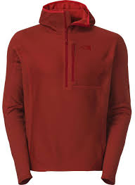 the north face fuseform dolomiti 1 4 zip hoodie blister gear