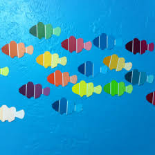 to go along with fish reading or under the sea theme in the