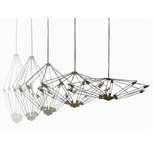 moooi kroon 11 pendant lighting black