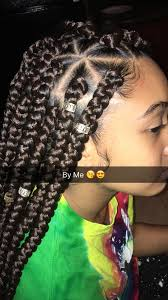 best plaitinhair style fo kids with big forehead like what you see follow me for more india16 box braids