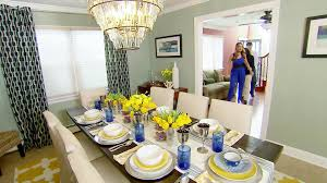 rustic dining room the high low project hgtv