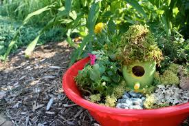 Diy Fairy Garden Ideas by Fairy Garden In A Pot Interiors Design