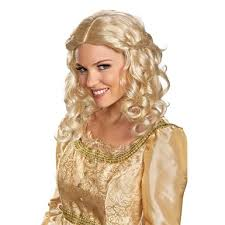 disney womens halloween aurora costume maleficent wig