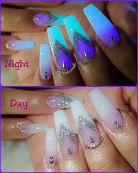 best 25 glow nails ideas on pinterest neon acrylic nails