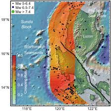 Humboldt State University Map by Earthquake Report Philippines Jay Patton Online