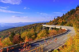 fall scenic drives early color asheville