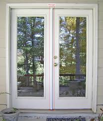 Wood Patio French Doors - simple french door no panes hopefully smoked or reflective to