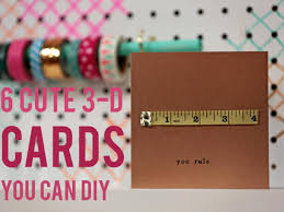 6 easy diy cards you can make in 5 minutes or less hgtv