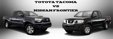 nissan frontier vs f150 nissan frontier vs toyota tacoma