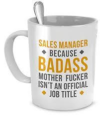 mug sales manager gifts sales manager mug badass sales