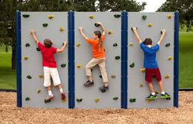 outdoor climbing walls and outside play equipment everlast climbing