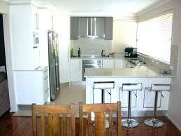idee cuisine ouverte modele de cuisine en u cuisine en u ouverte sur salon 12 idee