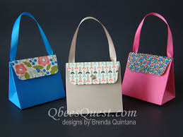purse gift bags qbee s quest gift bag punch board purse tutorial