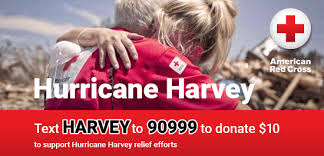 text message donations for hurricane harvey text harvey to 90999