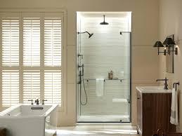 Installing Frameless Shower Doors Kohler Frameless Shower Doors Sliding Door Installation